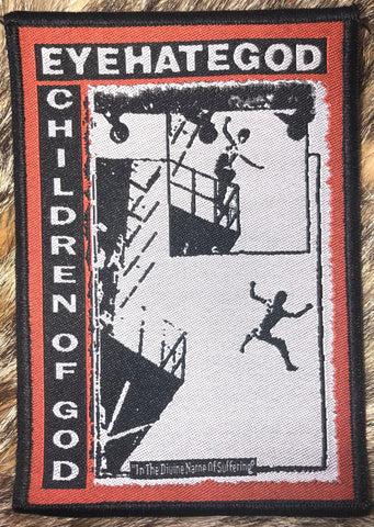 Eyehategod - Children of God Black Border Patch