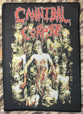 Cannibal Corpse - The Bleeding Black Border Patch