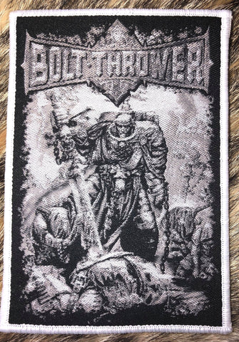 Bolt Thrower - Battlefield White Border Patch