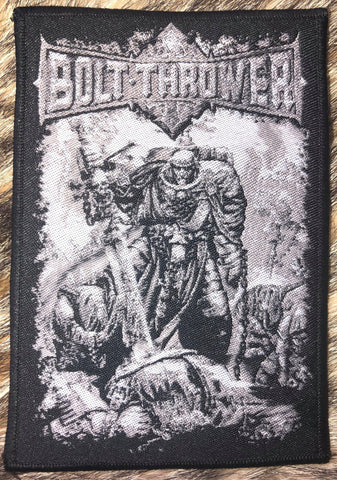 Bolt Thrower - Battlefield Black Border Patch