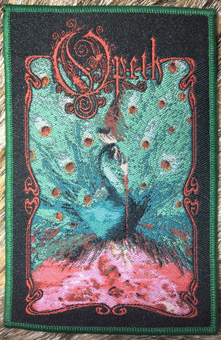 Opeth - Sorceress Green Border Patch