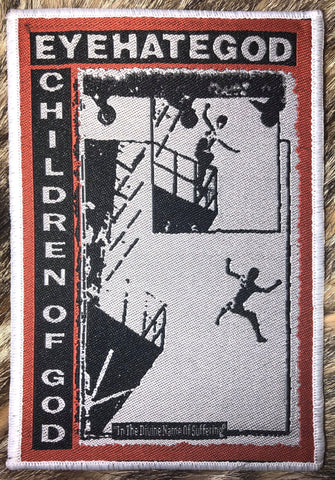 Eyehategod - Children of God White Border Patch