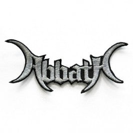 Abbath - Die Cut Logo Patch