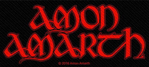 Amon Amarth - Logo Patch