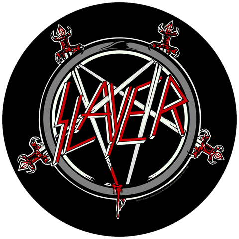 Slayer - Pentagram Circular Patch