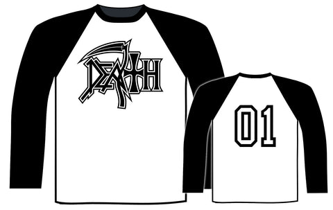 Death - Logo 01 Baseball Shirt