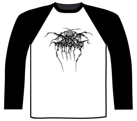 Darkthrone - Logo Baseball Shirt