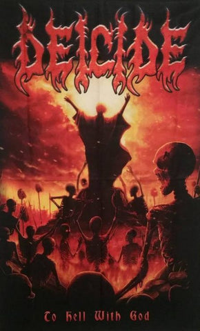 Deicide - To Hell With God Flag