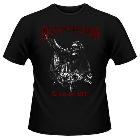 Destroyer 666	- Call of the Wild Short Sleeved T-shirt