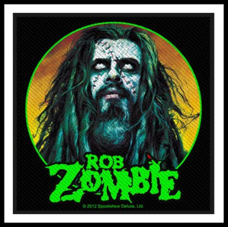 Rob Zombie - Zombie Face Patch