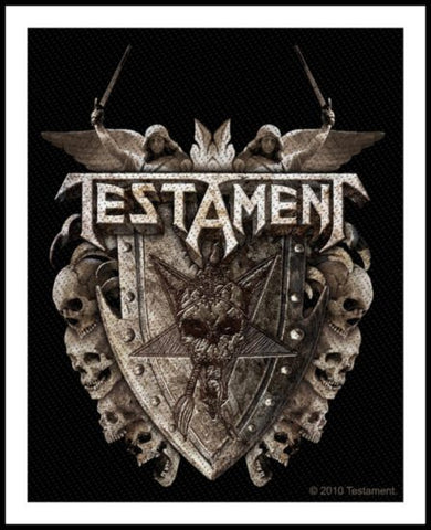 Testament- Shield Patch