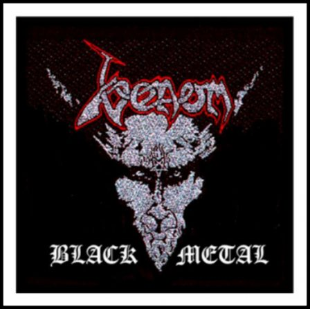 Venom - Black Metal Patch