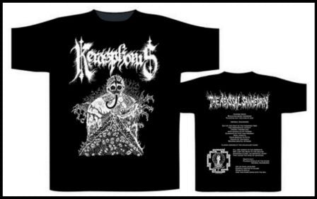 Kerasphorus - The Abyssal Sanhedrin Short Sleeved T-shirt