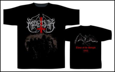 Marduk - Those of the Unlight Short Sleeved T-shirt