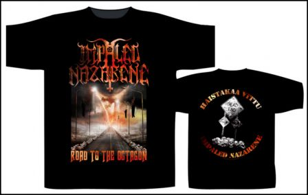 Impaled Nazarene – Road To The Octogon Short Sleeved T-shirt REDUCED PRICE!