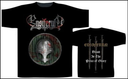 Ensiferum – Blood is the Price of Glory Short Sleeved T-shirt