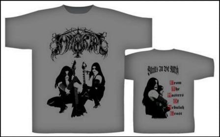 Immortal - Battles in the North Grey Short Sleeved T-shirt