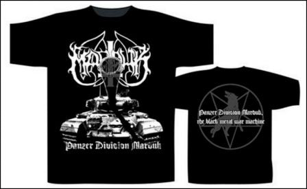 Marduk - Panzer Division Short Sleeved T-shirt