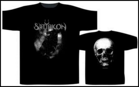 Satyricon – Black Crow on a Tombstone Short Sleeved T-shirt