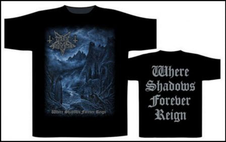 Dark Funeral- Where Shadows Forever Reign Short Sleeved Tshirt