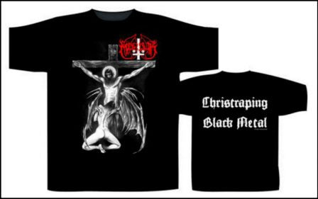 Marduk - Christraping Black Metal Short Sleeved T-shirt