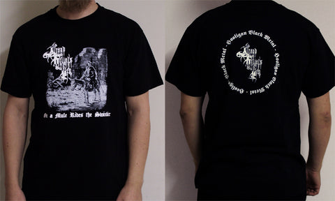 Grand Belial's Key - On a Mule Rides the Swindler Short Sleeved T-shirt