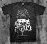 Hell Militia - Jacob's Ladder Short Sleeved T-shirt - REDUCED PRICE!