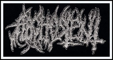 Arghoslent - Metallic Silver Logo Patch