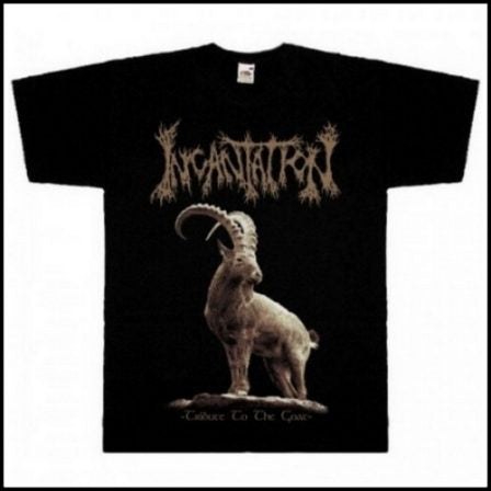 Incantation- Tribute To The Goat Short Sleeved T-shirt