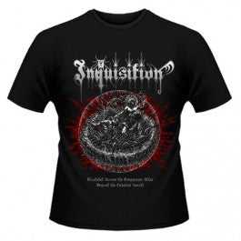 Inquisition - Bloodshed Across the Empyrean Altar Beyond the Celestial Altar - Short Sleeved T-shirt