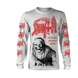 Death - Scream Bloody Gore Vintage Wash Long Sleeve Shirt