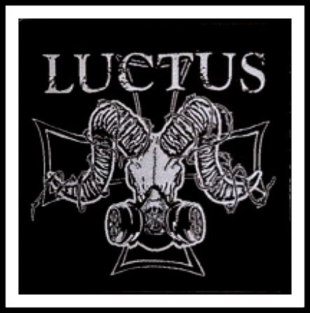 Luctus - Goat Mask Patch - LAST ONE!!