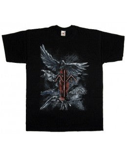 Nokturnal Mortum - Ravens Short Sleeved Tshirt - REDUCED PRICE!