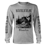 Burzum - Filosofem Grey Long Sleeve Shirt