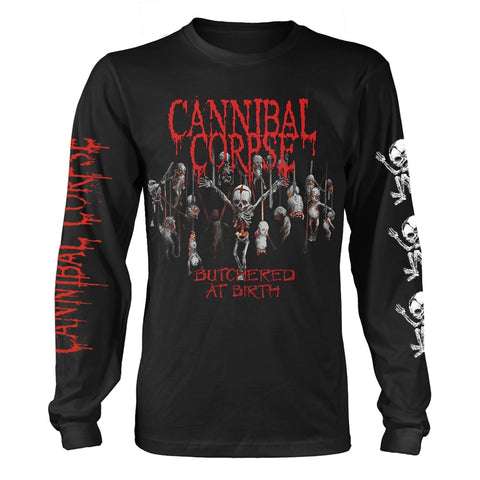 Cannibal Corpse - Butchered at Birth Censored Long Sleeve Shirt