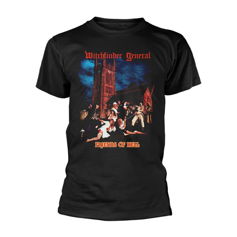 Witchfinder General - Friends of Hell Short Sleeved T-shirt