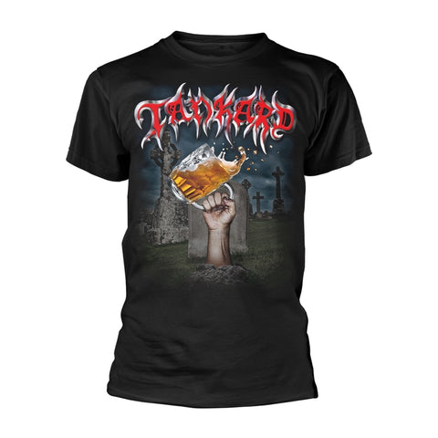 Tankard - Die With A Beer Short Sleeved T-shirt