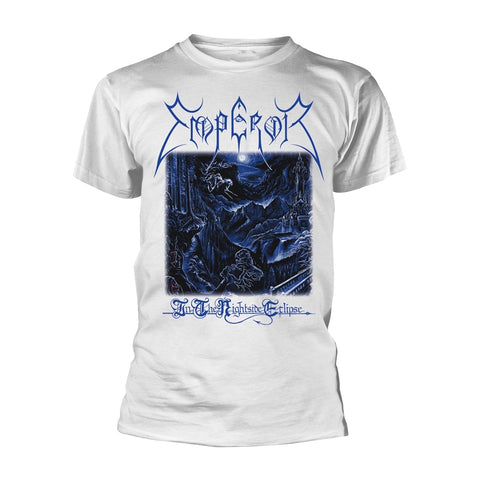 Emperor - In The Nightside Eclipse White Short Sleeved T-shirt