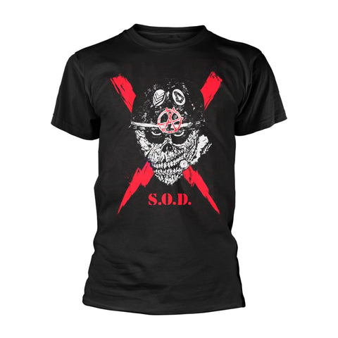 S.O.D. - Lightning Short Sleeved T-shirt