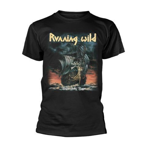 Running Wild - Under Jolly Rodger Short Sleeved T-shirt