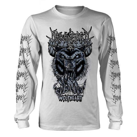 Moonspell - Wolfheart White Long Sleeve Shirt