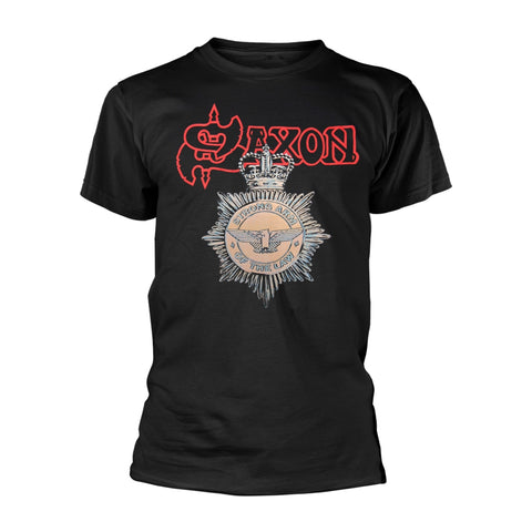 Saxon - Strong Arm of the Law Short Sleeved T-shirt