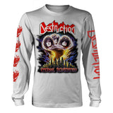 Destruction - Eternal Devastation White Long Sleeve Shirt