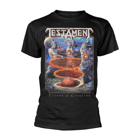 Testament - Titans of Creation Short Sleeved T-shirt