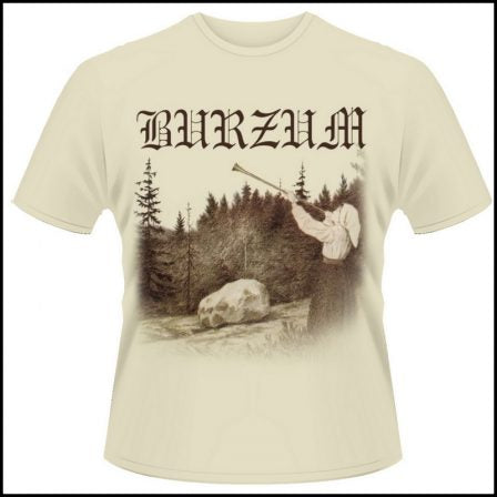 Burzum - Filosofem Beige Short Sleeved T-shirt