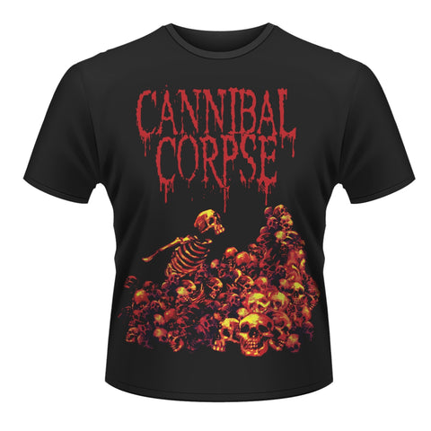 Cannibal Corpse - Pile of Skulls Short Sleeved T-shirt