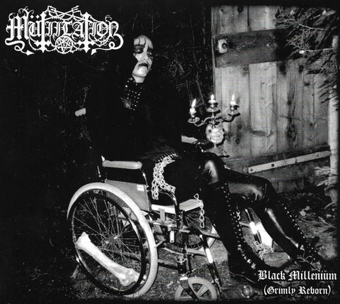 Mutiilation - Black Millenium (Grimly Reborn) Digipak CD