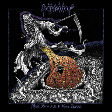 Inquisition - Black Mass for a Mass Grave LP