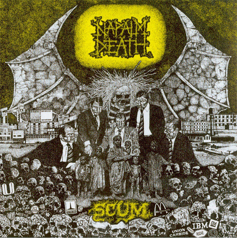 Napalm Death - Scum Dual Disc with DVD Digipak CD