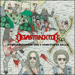 Devastracktor - Warhorsepowers and a Megaton of Balls CD